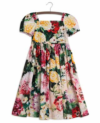 Flowers Mix short sleeved dress DOLCE & GABBANA