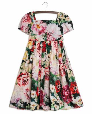 Flowers Mix short sleeved dress DOLCE & GABBANA