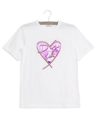 DG Love heart T-shirt DOLCE & GABBANA