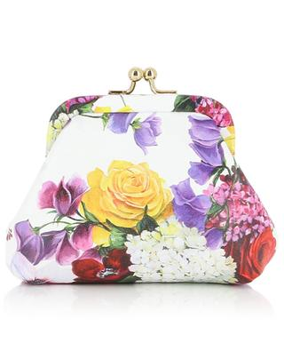 Floral print leather mini bag DOLCE & GABBANA