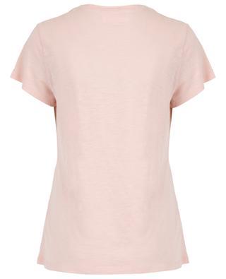 T-Shirt aus geflammter Baumwolle Jacksonville AMERICAN VINTAGE