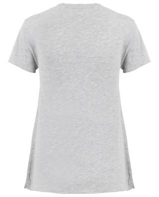 T-Shirt mit V-Ausschnitt Jacksonville AMERICAN VINTAGE