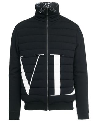 VLTN quilted knit bomber jacket VALENTINO