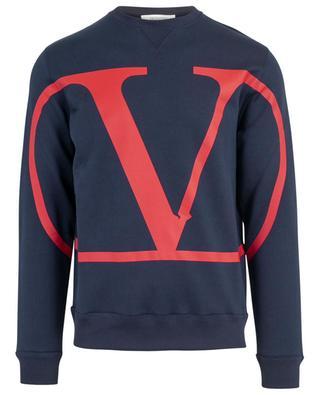 Sweatshirt mit Print Macro VLOGO VALENTINO