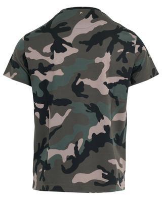 Camouflage print jersey T-shirt VALENTINO