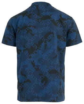 VLTN Grid camouflage print T-shirt VALENTINO