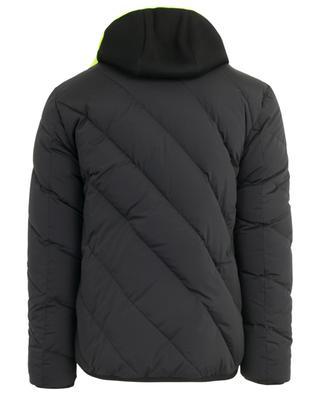 FF hooded reversible down jacket FENDI