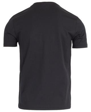 T-shirt en coton avec logo FF satiné FENDI