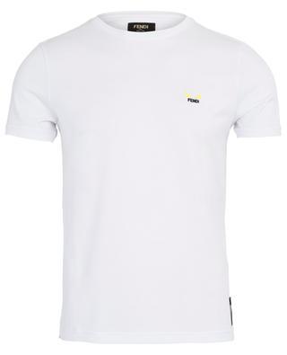 T-shirt en coton broderie yeux Bag Bugs FENDI