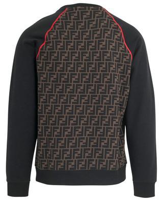 FF Fendi Roma/Amor patterned sweatshirt FENDI