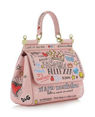 Mini-Handtasche aus Leder Sicily DOLCE & GABBANA