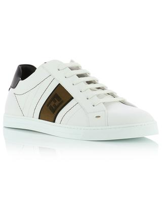 FF band quilted leather sneakers FENDI