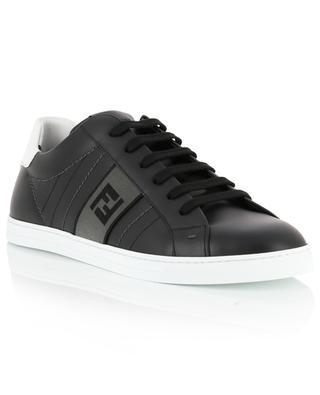 Sneakers aus gestepptem Leder FF-Band FENDI