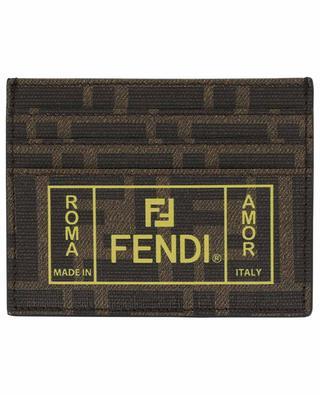 Porte-cartes FF Fendi Roma Amor FENDI