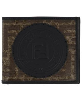 Fendi Stamp glazed FF jacquard wallet FENDI