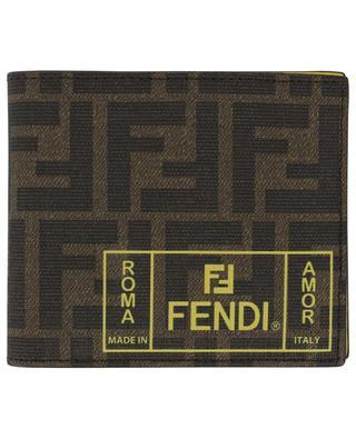 Fendi Roma Amor FF printed wallet FENDI