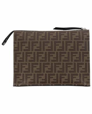 Petit porte-documents en jacquard FF Fendi Stamp FENDI