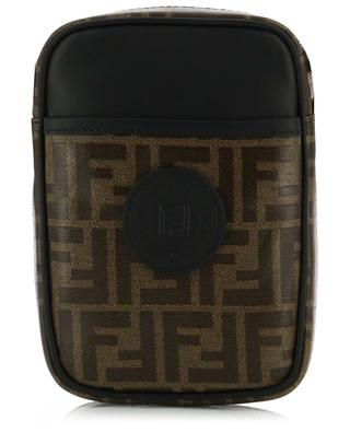 Fendi Stamp Petit FF jacquard messenger bag FENDI