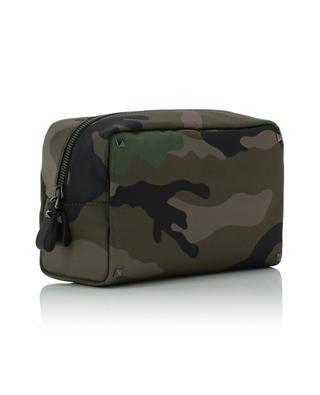 Trousse en nylon imprimé camouflage VALENTINO