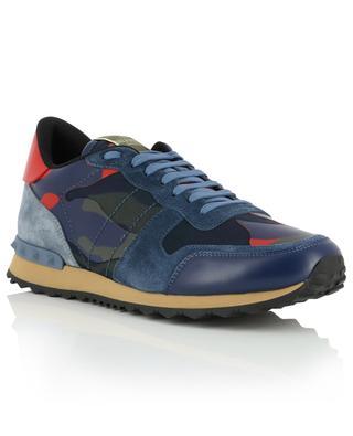 Sneakers aus Wildleder und Nylon Camouflage Rockrunner VALENTINO