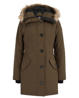 Rossclair hooded fur trimmed parka CANADA GOOSE