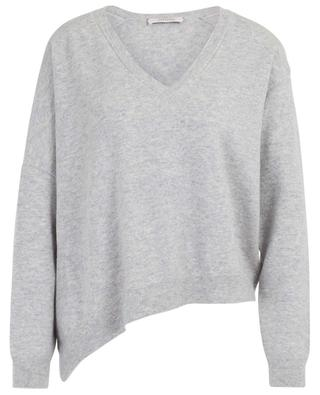 Confident Grace asymmetrical V-neck jumper DOROTHEE SCHUMACHER