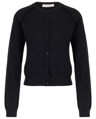 Waves Of Desire button-down cardigan with ruffles DOROTHEE SCHUMACHER