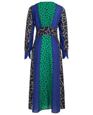 Langes Empire-Kleid aus Blüten-Patchwork MARC CAIN