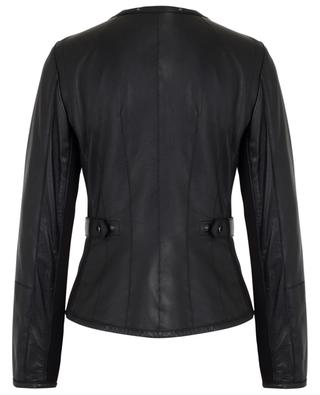 Fabric and nappa leather jacket MARC CAIN