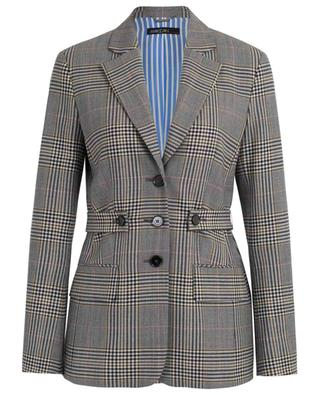 Virgin wool blend check blazer MARC CAIN