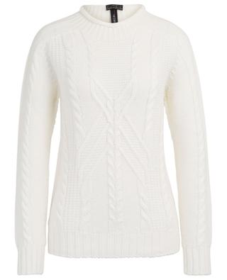 Virgin wool and alpaca blend cable knit jumper MARC CAIN
