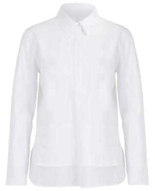 Stretchy cotton long-sleeved top MARC CAIN