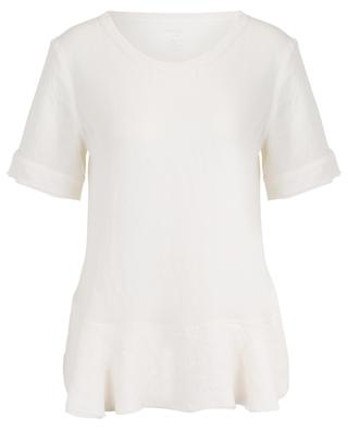 Short-sleeved peplum top MARC CAIN