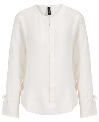 Long-sleeved blouse with bows MARC CAIN