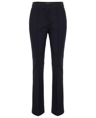 Slightly flared wool felt trousers MARC CAIN