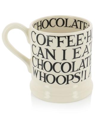 Black Toast All Over stoneware mug EMMA BRIDGEWATER