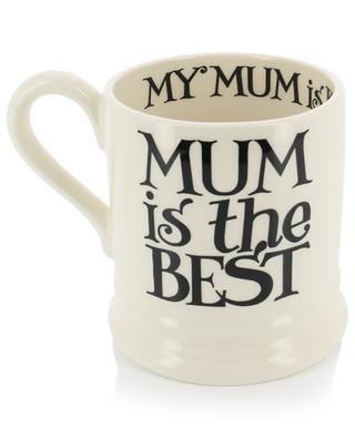 Mug en faïence Black Toast Mum EMMA BRIDGEWATER