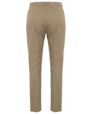 Franca technical cotton cropped trousers AKRIS PUNTO