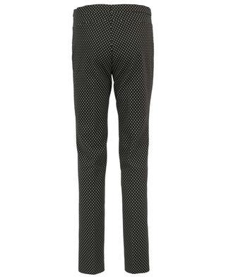 Pantalon stretch imprimé Françoise AKRIS PUNTO