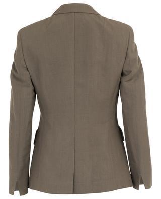 Linen blend blazer AKRIS PUNTO