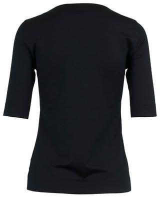 T-shirt slim à col carré AKRIS PUNTO