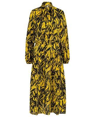 Long zebra print dress N°21