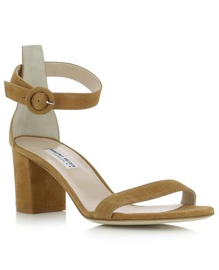 Suede sandals with block heels BONGENIE GRIEDER