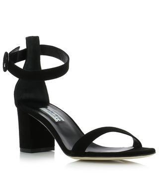 Suede sandals with block heels BONGENIE GRIEDER