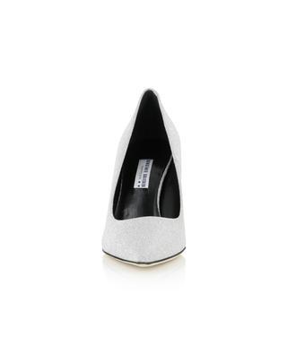 Glitter leather pointy tip pumps BONGENIE GRIEDER