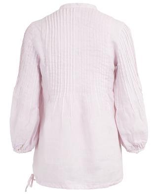 Poet sleeve blouse with tucks 120% LINO