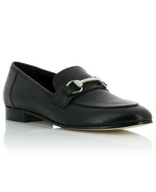 Grained leather loafers BONGENIE GRIEDER