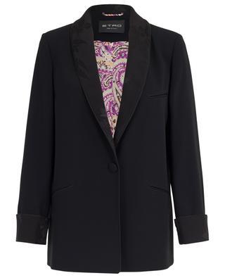 Crepe floral blazer ETRO