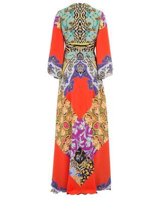 Long printed silk dress ETRO
