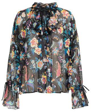 Floral printed silk shirt ETRO